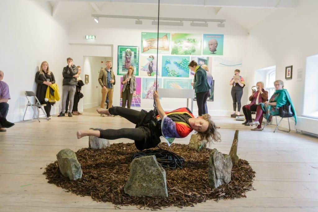 Natasha Bourke The Worlding Aisteach The Model Sligo. Photo By James Connolly
