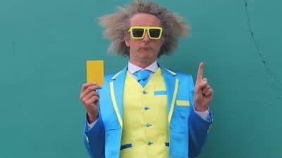 Con Horgan Yellow Card